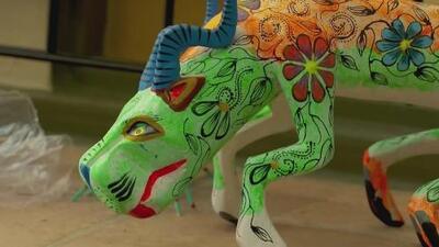 Esta familia de artesanos mexicanos se ha convertido en la embajadora de los Alebrijes de Oaxaca tallados en madera