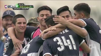Monterrey Sub-19 venció 3-2 al Atlanta y se clasificó a la siguiente fase de la Dallas Cup
