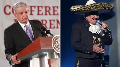 Lo que le depara el futuro al presidente de México y a Vicente Fernández, según las cartas de El Niño Prodigio