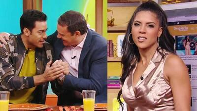 """DAEnUnMinuto: Alan recuerda que le dio """"la patadita"""" a Carlos Rivera, y una broma no le gustó  a Francisca"""