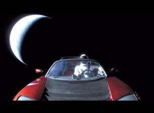 Cómo es el Tesla Roadster que está en órbita y qué pasará con él