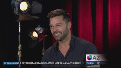 "Ricky Martin habla de nuevo reality ""La Banda"""