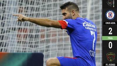 Cruz Azul  2-0 Juárez - RESUMEN Y GOLES – Apertura 2018 cuartos de final Copa MX