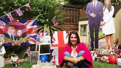 ¿Un museo de la familia real británica? No, Maity conoció la colección más grande de 'souvenirs' de Los Windsor