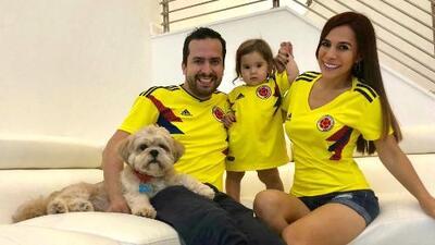 Vela y su familia le hacen fuerza a la Selección de Colombia