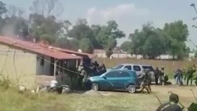 Mueren cuatro personas en el tiroteo entre miembros del cártel Jalisco Nueva Generación y la policía
