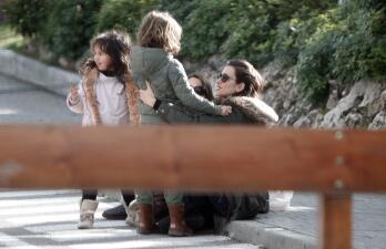 Penélope Cruz pasa un día lleno de diversión con sus hijos