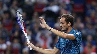 Daniil Medvedev se llevó la el título en el Másters 1000 de Shanghai