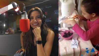(VIDEO) Entre lágrimas, Argelia entregó su vestido de vals junto a Chayanne para una quinceañera