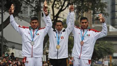 Doblete peruano en maratón y plata y bronce para México
