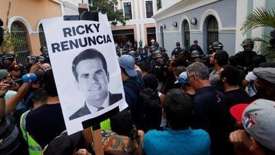 Rosselló asegura que no renunciará al gobierno de Puerto Rico, pese a protestas tras el escándalo del chat