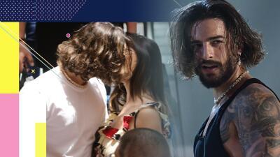 Beso viene y beso va: en fotos, la apasionada semana de amor de Maluma y su novia en Miami