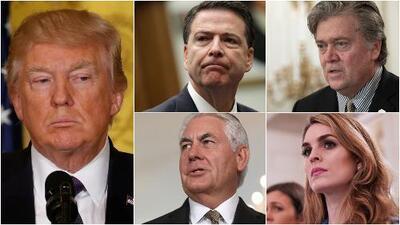 Estos son los funcionarios que han dejado la Casa Blanca durante el primer año de gobierno de Trump