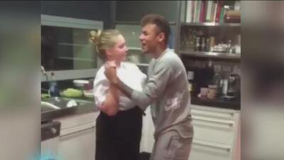 Neymar presumió sus mejores pasos de baile