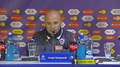 "Jorge Sampaoli: ""Fue un partido muy duro"""
