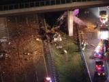 Camión que transportaba sandías choca contra una valla en la autopista dejando a dos personas muertas en el condado de Mercer
