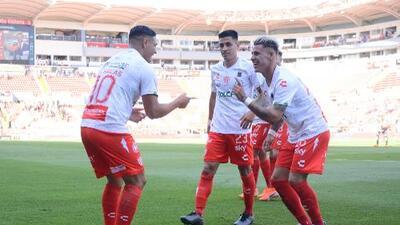 El idilio entre Necaxa y el futbol chileno