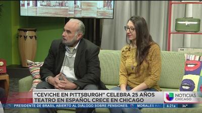 """Primera Hora: La obra, """"Ceviche en Pittsburgh"""" celebra 25 años: Teatro en Español crece en Chicago"""