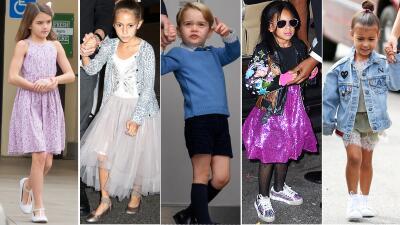 Amantes de la moda: Así se visten los hijos de los famosos