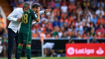 """Quique Setién sobre Guardado: """"Es un futbolista muy importante para nosotros"""""""