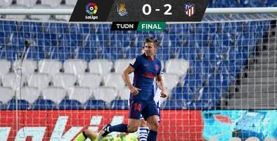 Atlético de Madrid venció a Real Sociedad y sigue líder en LaLiga