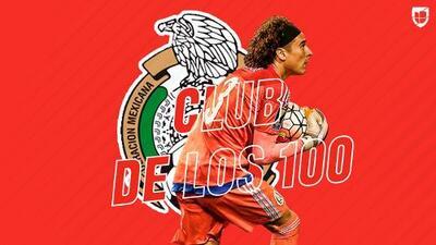 Guillermo Ochoa entra al Club de los 100 de FIFA