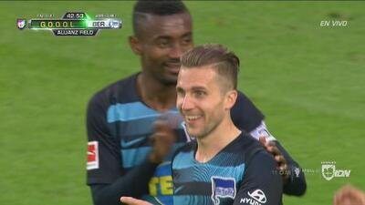¡Error y gol! Hertha Berlín derrotó 1-0 a Minnesota United en amistoso internacional