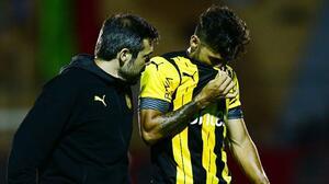 Urretaviscaya se volvió a 'romper', ahora con Peñarol