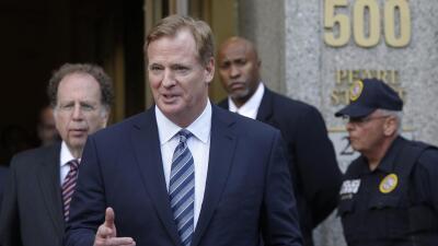Roger Goodell: La NFL apelará el fallo del juez que anuló la suspensión de Tom Brady