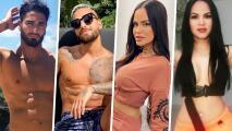 """Son idénticos a sus ídolos y también hacen """"dinerito"""": conoce a los dobles de Maluma, Natti Natasha y más famosos"""