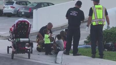 Al menos cinco niños salen ilesos tras un accidente vehicular en Miami Beach
