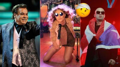 EN FOTOS: Caídas que artistas famosos han sufrido en el escenario