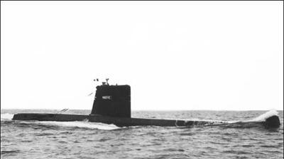 Encuentran un submarino desaparecido hace más de medio siglo en el Mar Mediterráneo