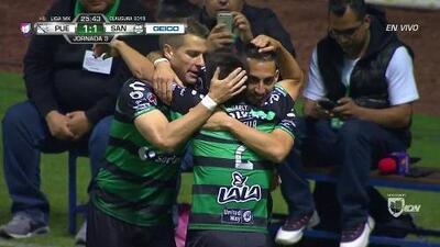 ¡GOOOL! Javier Correa anota para Santos Laguna