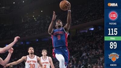 Los Detroit Pistons atrapan el último boleto a los Playoffs de la NBA