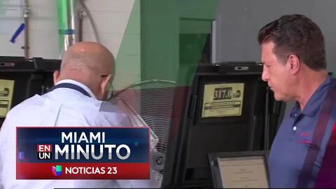 'Miami en un Minuto': la apatía en las urnas ha marcado la jornada electoral en Florida