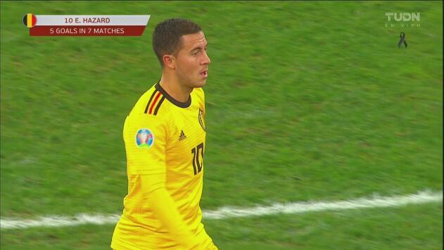 ¡Ya es goleada! Eden Hazard firma su segundo de la noche ante Rusia