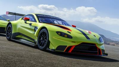 Aston Martin Vantage GTE listo para el WEC