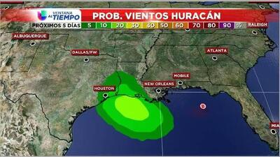 Costas texanas se ven amenazadas por sistema en el Golfo