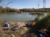 Muere una niña de 9 años cruzando el Río Bravo hacia EEUU junto a su madre y hermano