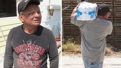 El jardinero guatemalteco que perdió todo por el huracán Irma, menos sus ganas de ayudar a los demás