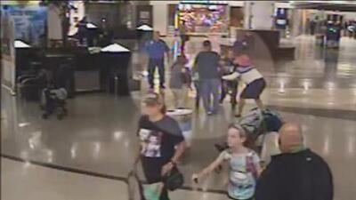 Graban el momento en que una mujer intenta secuestrar a dos niños en un aeropuerto de Georgia