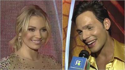 La expareja Irina Baeva y Emmanuel Palomares juntos de nuevo en Mira Quién Baila