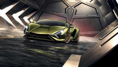 Así es el Lamborghini Sián, el primer 'toro' híbrido de la marca