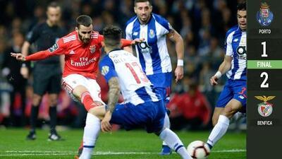 Batacazo en Portugal: Porto cayó y perdió el liderato ante el Benfica