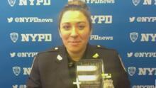 Conoce a Alyssa Vogel, la agente de policía en Nueva York que por su labor fue escogida como Ángel del 41