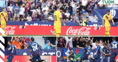 ¡Jornada de miedo para Barcelona y Lionel Messi!