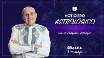 Noticiero astrológico: semana del 3 al 9 de mayo
