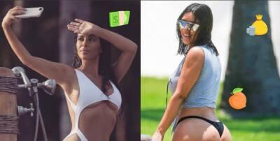 Kim kardashian es mucho más que un trasero y te lo demostramos con fotos