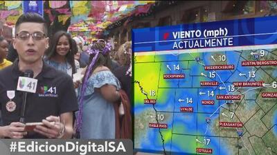 """Así estarán las condiciones del tiempo en San Antonio este fin de semana de """"Fiesta"""""""